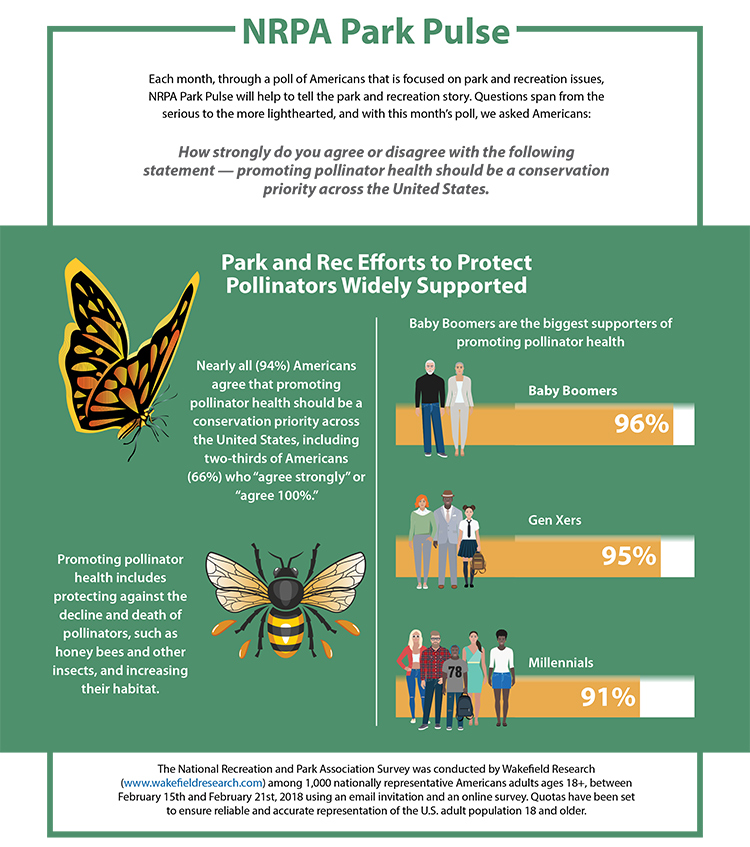 Park Pulse: Protecting Pollinators Infographic