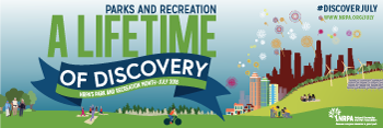Park and Recreation Month: Twitter Cover