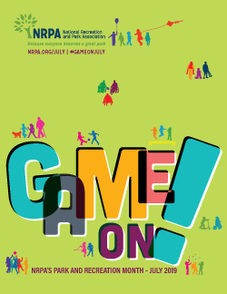 Parks and Recreation: Game On poster