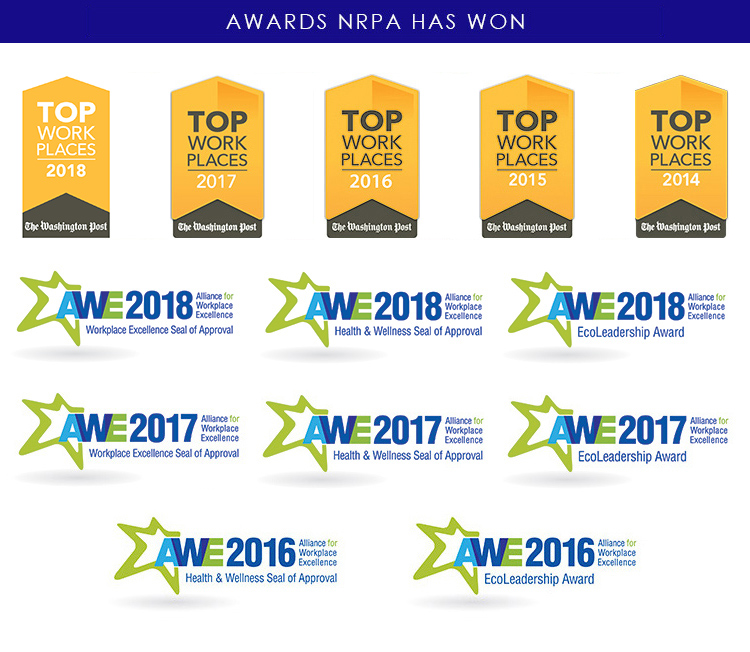 NRPA Awards Banner