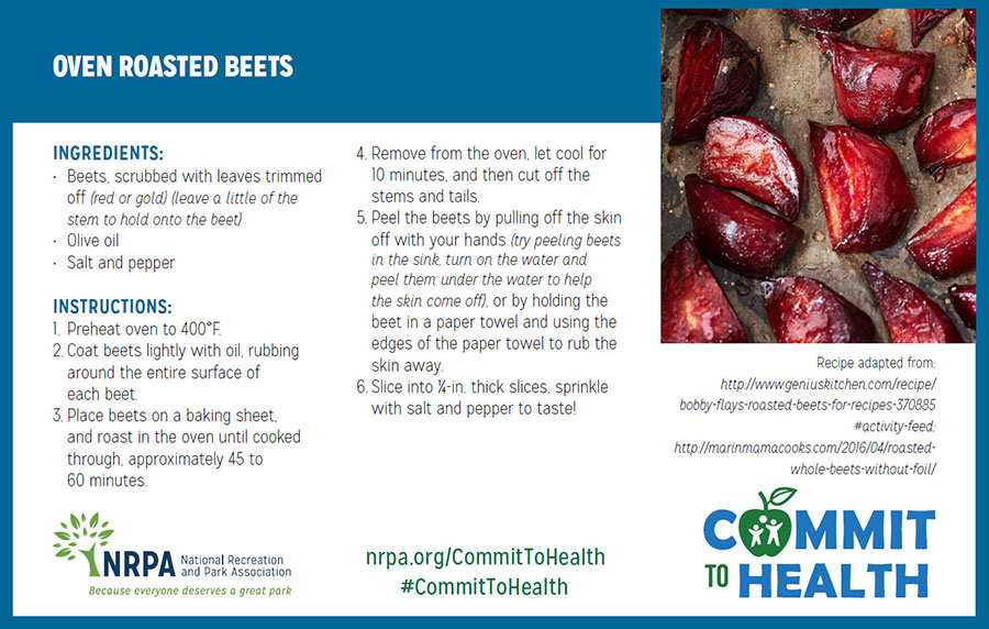 Oven Roasted Beets Recipe