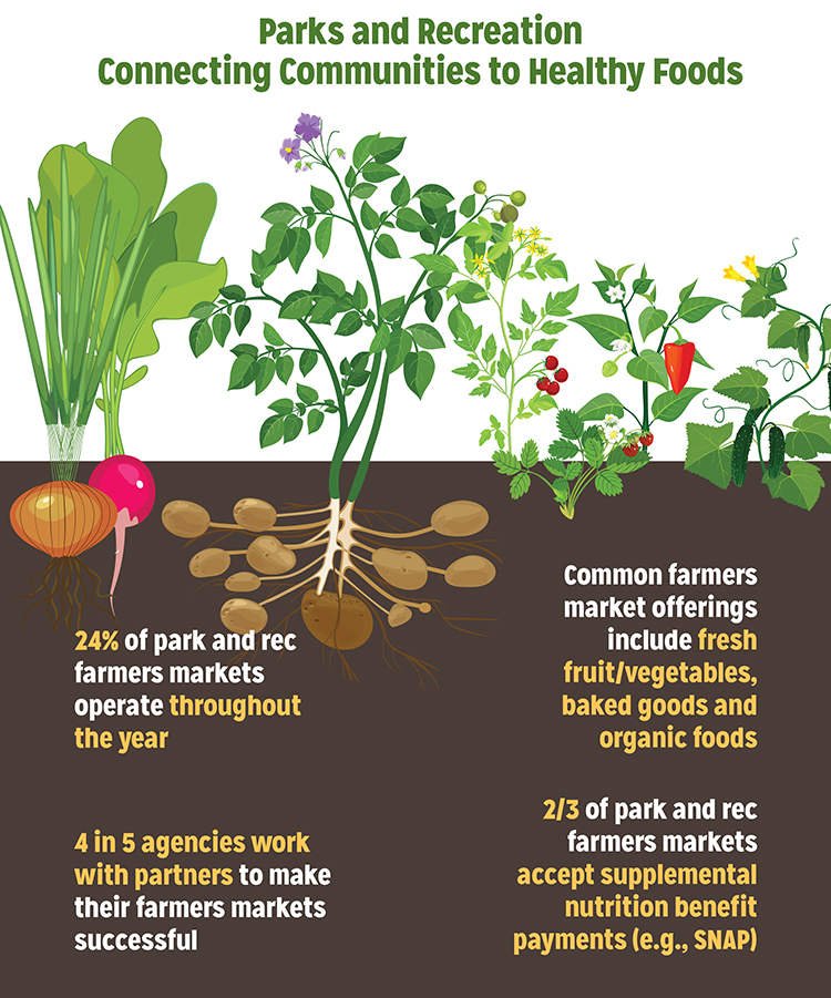 Farmers Markets Inforgraphic