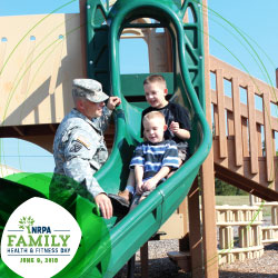 Download Family Fitness Day Playground Slide