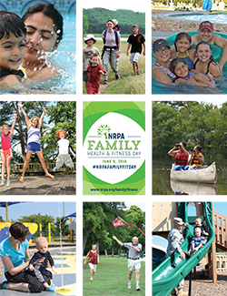 Family Fitness Day Poster