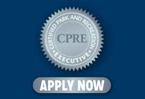 Apply to be a CPRE by March 31 to get 25% off the Management of Park and Recreation Agencies book