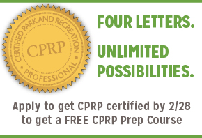 Apply to get CPRP certified by February 28, 2018 to get a free CPRP prep course.
