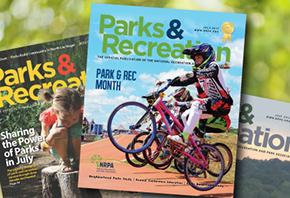Park and Recreation Month Cover Contest