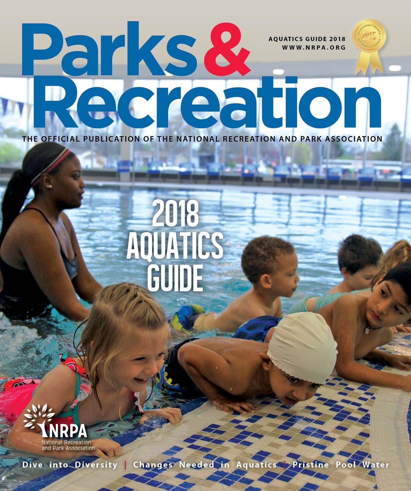 Parks and Recreation magazine Aquatics Guide