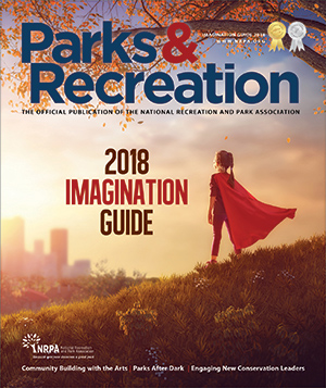 Parks and Recreation magazine Imagination Guide