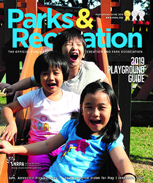 Parks and Recreation magazine Playground Guide