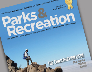 Park and Recreation Magazine March 2016