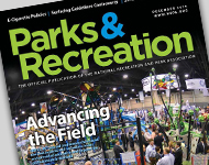 Park and Recreation Magazine December 2014