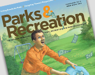 Parks and Recreation magazine February 2015