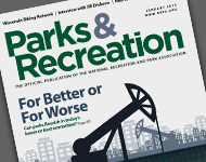 Park and Recreation Magazine January 2015