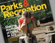 Park and Recreation Magazine July 2015