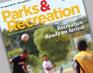 Park and Recreation Magazine November 2015