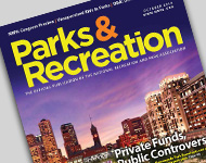 Park and Recreation Magazine October 2014