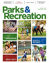 Parks and Recreation Magazine April 2013