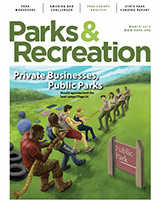 Parks and Recreation Magazine March 2013