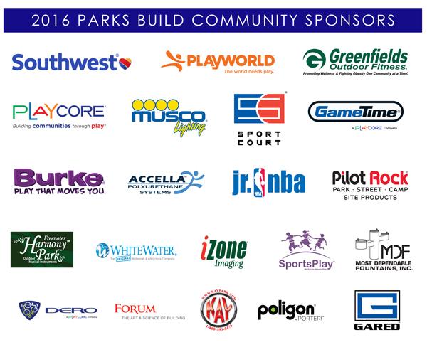 Trojan Park Park Revitalization Sponsor Banner
