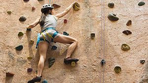 Be Inspired 2016 TX Austin Climbing Wall