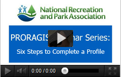 PRORAGIS Six Steps to Profile Completion