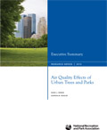 Air Quality Effects of Urban Parks and Trees