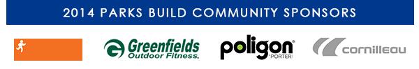 2014 Parks Build Community Sponsors