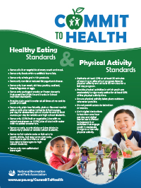 Commit to Health Poster