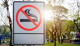 Four in Five Americans Support Policies Banning Tobacco in Public Areas