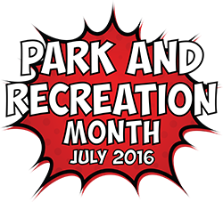 Park and Rec Month Logo