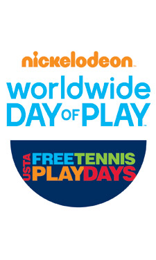 Nickelodeon and the United States Tennis Association are joining forces in the fight against childhood obesity by hosting free tennis play days across the country.
