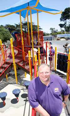 Darell Hammond, CEO and Founder of KaBOOM!, has seen thousands of playground installations revitalize neighborhoods across the nation.