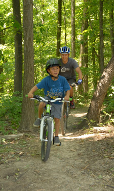 Thanks to their collaboration with a local mountain biking group and the Student Conservation Association, Cleveland Metroparks now offers nine miles of single-track bike trails.