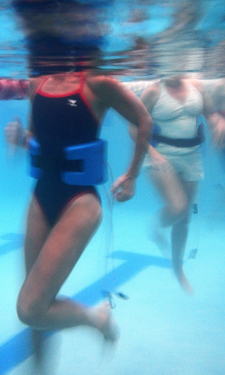 Deep-water running offers a non-impact cardiovascular workout for injured athletes, seniors, and everyone in between.