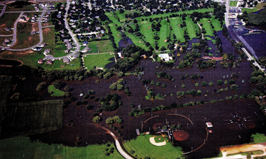 In Illinois, Sycamore Park District is using GIS for better land-use planning in relation to major flood events, such as the 1997 flood depicted here.