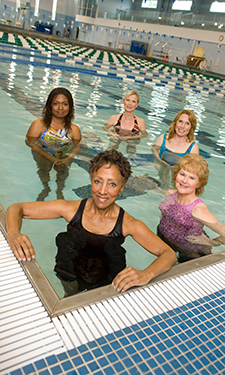 Pools such as Fountain View offer a unique place for people with injuries or who need physical therapy to safely move and build strength.