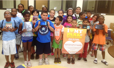 A summer e-reading program in Grand Prairie, Texas, changes the way youth enjoy summer camp.