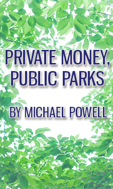 Private funding is seen as a panacea for public parks, but a closer look reveals equity issues and an alarming decline in public funding.