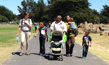 As part of Healthy Parks Healthy People: Bay Area, East Bay Regional Park District and UCSF Benioff Children's Hospital Oakland partner to take patients into nature for health.