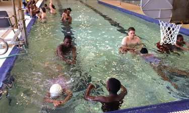"Mecklenburg County, North Carolina's ""Every Child Can Swim"" free swim lesson program gives kids who might not otherwise learn this lifesaving skill a chance to jump in."