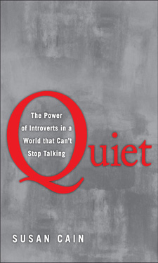 """Quiet"" by Susan Cain offers insight on introverts that can help improve relationships between different members of your team."