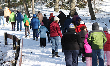 State parks across the country start their communities on the right foot in the new year with guided hikes on January 1.