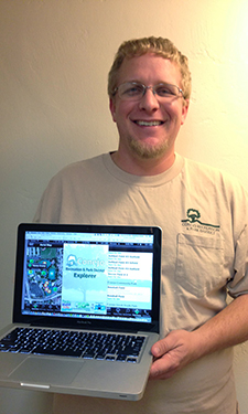 This park custodian developed an exciting app for his agency to better connect with customers.