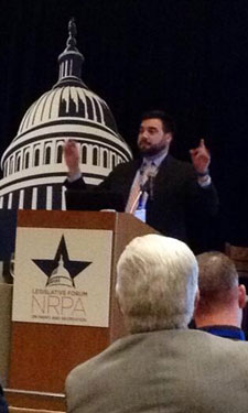 Jason Mangum : @azmangums: Kevin O'Hara of @NRPA_news preaching to the choir at #NRPALegForum opening session. Can I get an Amen!