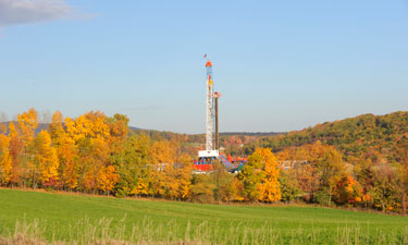 How is fracking on or near public parklands impacting park usage?