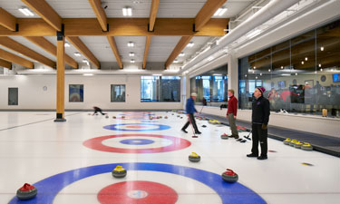 Chaska's new curling, restaurant and event center has been a big hit with the community, offering a place to gather, socialize and play.