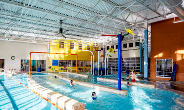 Large-volume, low-speed, overhead fans can be very helpful for existing facilities that cannot adjust the supply and return openings for their natatorium.