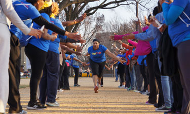 GirlTrek, an African-American walking group for women, boasts 60,000 members who take to their local parks and walking trails each day, taking steps toward healthier lives.