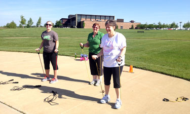 Small group personal training is a component of Lee's Summit Parks and Recreation RevUp Community Wellness Program.